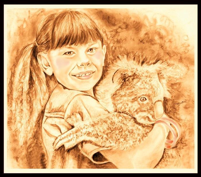 Bindi Irwin by Christine